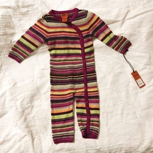 Missoni for Target baby long sleeve union suit